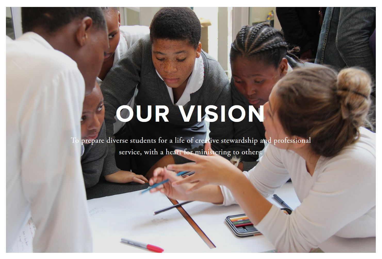 Vision Statement from the school<br>as it appears on their official website,<br> https://andrews.edu/said/home/ as of 07.30.2020